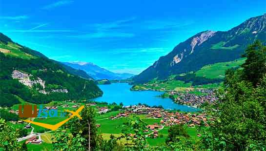 دریاچه لانگرن در سوئیس