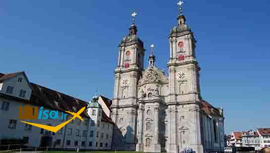 فرهنگ سوئیس (کلیسای شهر سنت گالن)