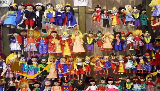 فرهنگ چک ( یکی از مغازه های شهر پراگ)