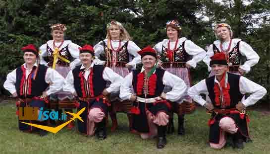 فرهنگ مردم لهستان (مراسم شاد و محلی مردم لهستان)