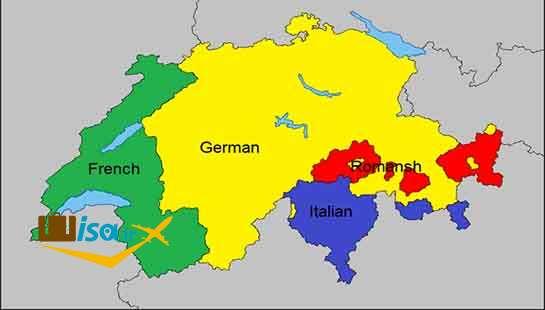 نژاد و زبان مردم سوئیس