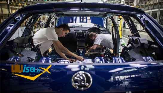 اقتصاد چک (کارخانه خط تولید ولکس واگن)