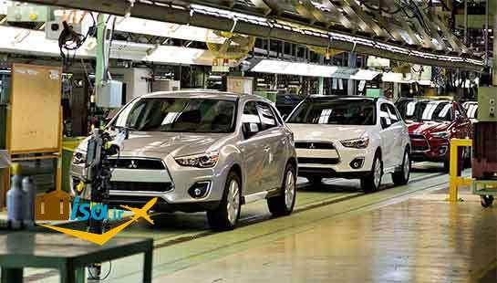 اقتصاد ژاپن کارخانه خودرو میتسوبیشی