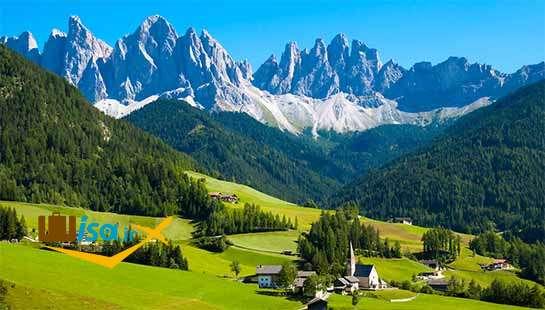 کوه های آلپ سوئیس