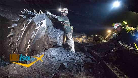 یکی از معادن زغال سنگ جمهوری چک