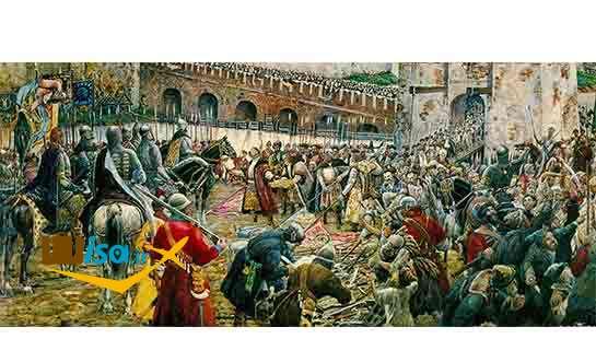 اشغال مسکو توسط لهستانی های در طول دوران آشوب
