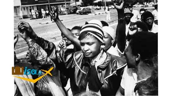 تاریخ آفریقای جنوبی ( اعتراض به تبعیض نژادی)