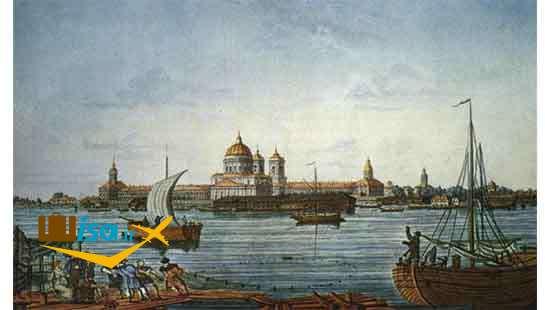 تاریخ سن پترزبورگ (نقاشی قدیمی از شهر)
