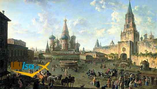 تصویر قدیمی از مسکو