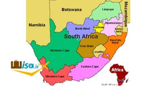 جغرافیای آفریقای جنوبی