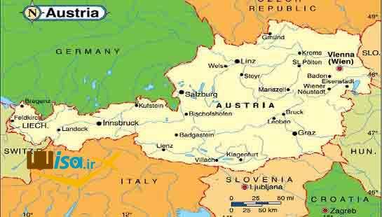 جغرافیای اتریش