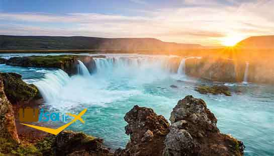 جغرافیای ایسلند ( آبشار های زیبا)