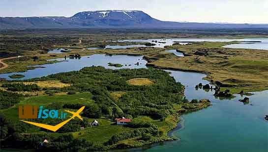 دریاچه مایوتن ایسلند