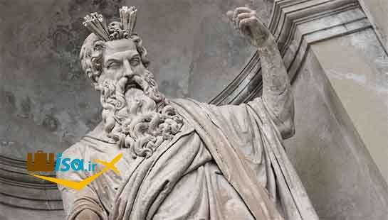 در اسطوره یونانی، پس از شکست دادن تیتان، زئوس حاکم الیمپوس شد.