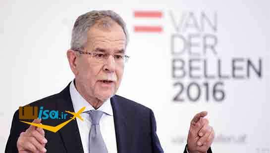رئیس جمهور فعلی اتریش الکساندر فن در بلن
