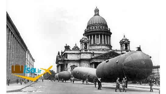 سن پترزبورگ در جنگ جهانی