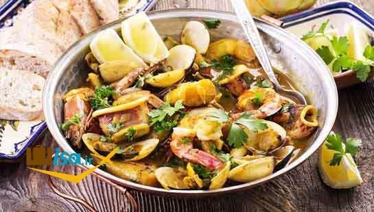 غذای مدیترانه ای در رستوران های پرتغال