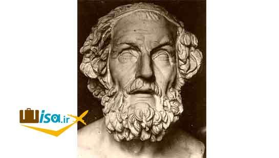 فرهنگ یونان (هومر شاعر شعرهای حماسی)