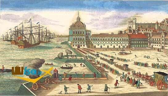 قصر ریبیرا نیمه اول قرن 18، لیسبون