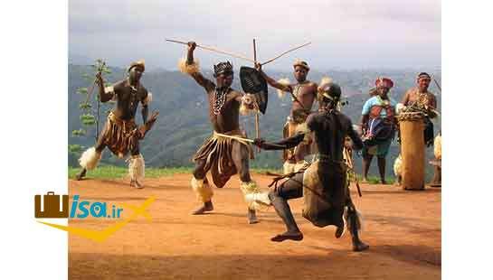 مردان قبیله زولو