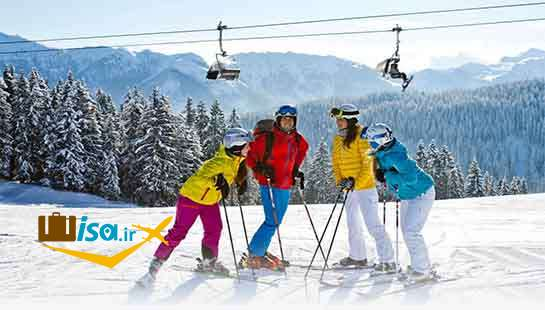 ورزش های زمستانه اسکی اتریش