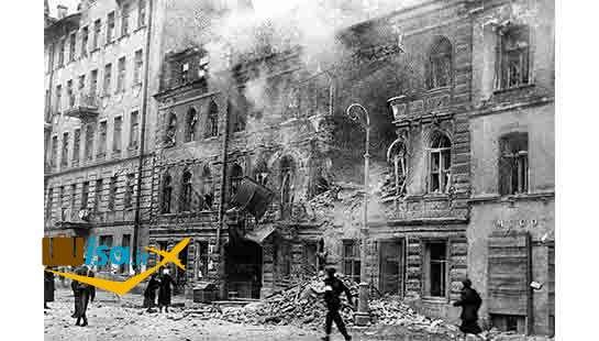 ویرانی های جنگ جهانی سن پترزبورگ