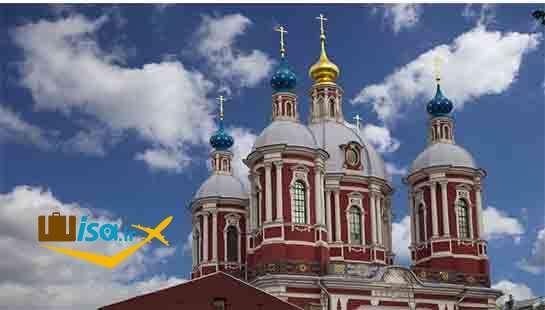 کلیسای سلسله سلطنتی سنت کلمنت در مسکو ساخته شده در قرن ۱۸