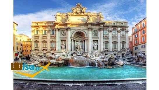 آب نمای مشهور در رم