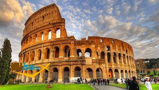آمفی تئاتر قدیمی شهر روم( محل تماشای مبارزه گلادیاتورها در روم باستان)