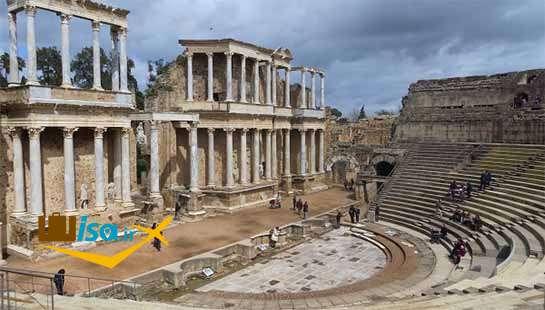 از بناهای تاریخی اسپانیا ساخته شده توسط رومیان