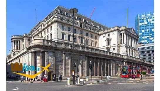 بانک انگلند دومین بانک مرکزی دنیا