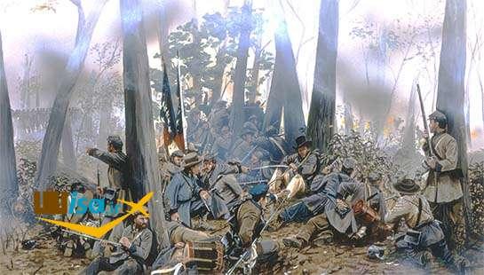 تاریخ آمریکا (جنگ های داخلی آمریکا)