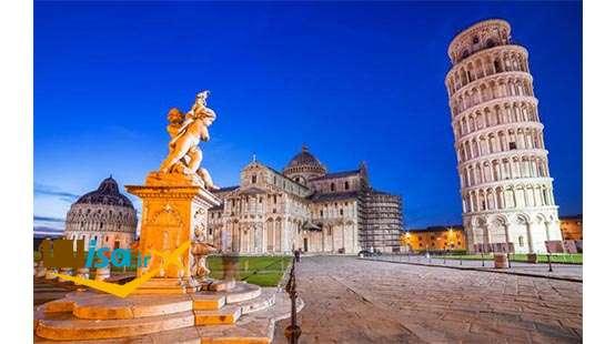 تاریخ ایتالیا ( برج کج پیزا)