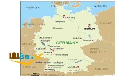 جغرافیای آلمان