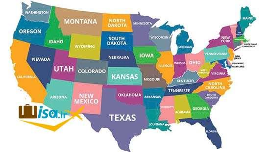 جغرافیای آمریکا