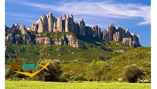 جغرافیای اسپانیا (منطقه کوهستانی کاتالونیا)