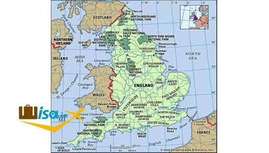 جغرافیای انگلیس