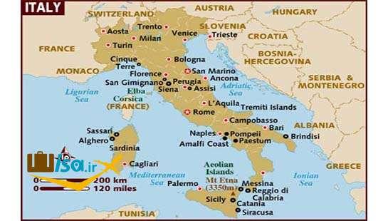 جغرافیای ایتالیا