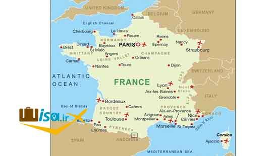 جغرافیای فرانسه