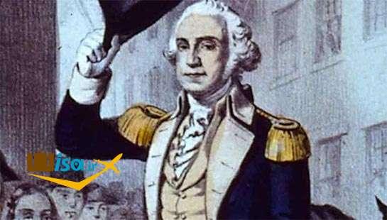 جورج واشنگتن اولین رئیس جمهور آمریکا