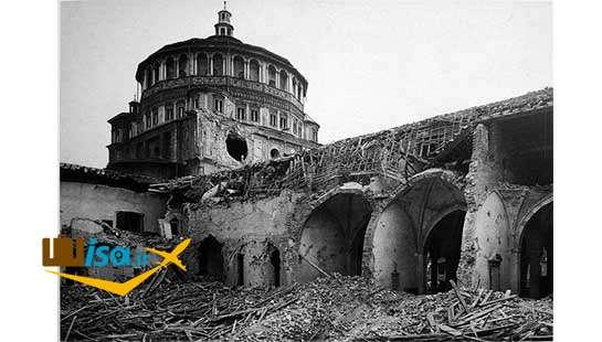 خرابی های جنگ جهانی در ایتالیا