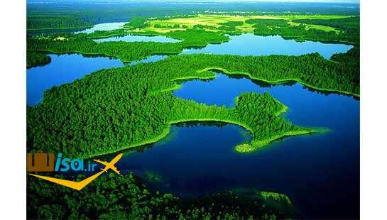 دریاچه های پراکنده آلمان