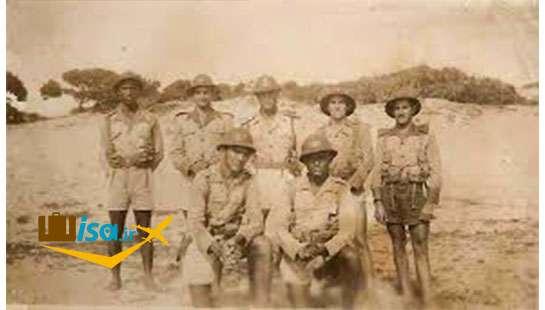 سربازان برزیلی در جنگ جهانی