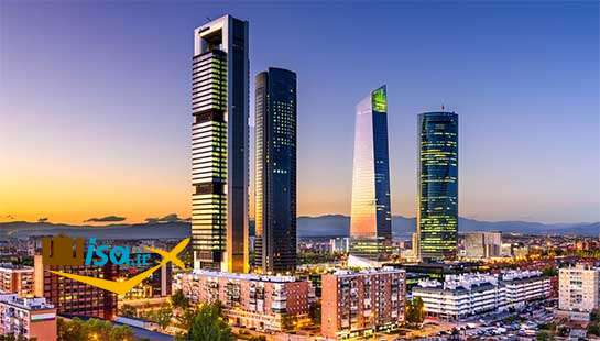 شهر مادرید پایتخت اسپانیا