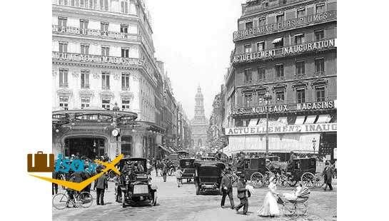 عکس قدیمی از شهر پاریس