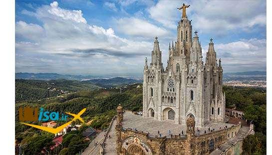 معبدی در شهر بارسلونا