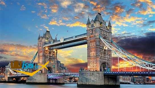 یکی از مناظر زیبای لندن