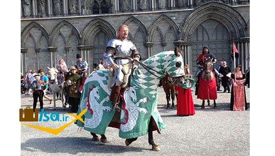 تاریخ نروژ ( جشن سنت اولاو که میراث تاریخی را نکو می دارند)