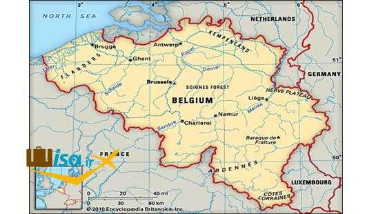 جغرافیای بلژیک