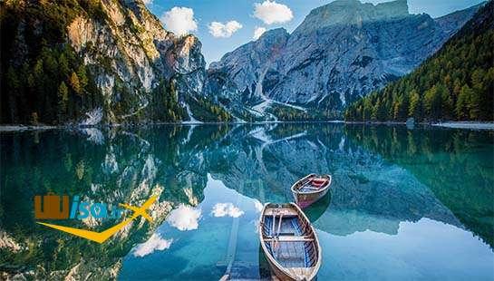 جغرافیای فنلاند ( یکی از دریاچه های زیبای آن)
